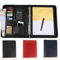 Quality Zipped A4 ring binder portfolio for sale