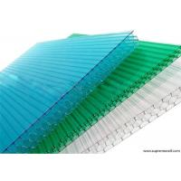 Quality Colored Honeycomb Polycarbonate Plastic Sheet for sale