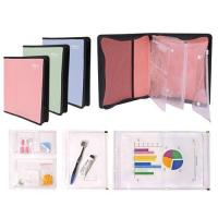 China Zipper Binder with Zipline, A5 Size, 2 O Ring, 1 on sale