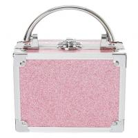 Quality Pink Glitter Lock Box Cosmetic Set for sale