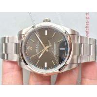 China Rolex Watches Clone Rolex Oyster Perpetual Watch Rhodium Face 39mm Swiss ETA on sale