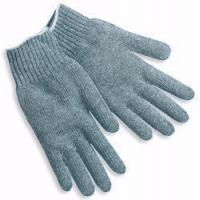 Memphis Gray Economy Weight Cotton/Polyester String Knit Glove