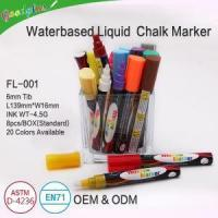 China Chalk Markers Color Set on sale