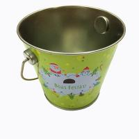 Quality Easter tin bucket for chocolate for sale