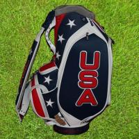 China GOLF CART BAGS Cheap Leather Golf Staff Bags on sale