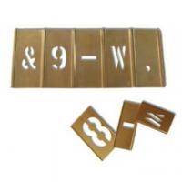 China Stencil Letter and Figure Sets on sale