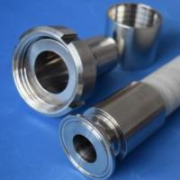 Quality Pharmaceutical-grade hose SMS quick connector for sale
