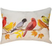 China Cabin Accents Flocked Together in the Fall Pillow 18 x 24 SHXFTF on sale
