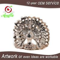 Quality Decorativ Resin Figurines Peacock Sculptures Home Goods and Table Piece for sale