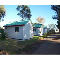 Quality low cost gable roof prefab office building prefab camp house for sale for sale