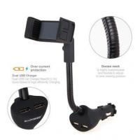 Quality Alloyseed Car Smartphone Holder with Dual USB 2.1A Charger for sale