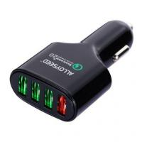 Quality Alloyseed Quick Charge 2.0 54W 4-Port USB Car Charger Adapter for sale