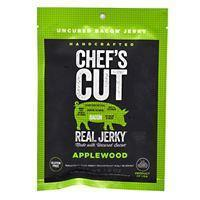 Quality Snacks / Foods Chef''s Cut Real Jerky Real Bacon Jerky Applewood 1 oz for sale