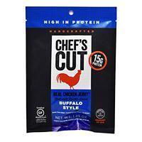 Quality Snacks / Foods Chef''s Cut Real Jerky Real Chicken Jerky Buffalo Style 1.25 oz for sale