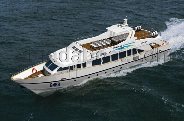 Buy 150seats Steel Hull Coastal Ferry Boat at wholesale prices