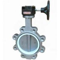 Stainless steel body Lug Butterfly Valve