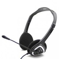 Quality Black OEM PC Headset Headphone with 2m Mic for sale