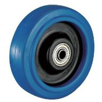 Quality Product Model:A4045 Product Name:Heavy Duty Elastic Rubber wheel caster for sale
