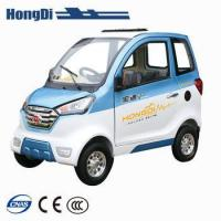 Buy cheap Hongdi brand new 4 wheel small electric passenger car for sale from wholesalers