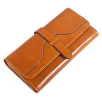 Buy cheap Itslife Women's RFID Blocking Leather Long Trifold Clutch Wallet from wholesalers