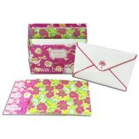 Note Cards Set with Envelopes and Storage Box