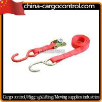 Buy cheap Ratchet Tie Down 4 Inch ratchet strap with long Aluminous Handle from wholesalers