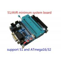 China 51 SCM minimum system board / board / learning board (serial download) Support AVR Microcontroller on sale