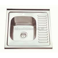 Quality KBLS6060 Stainless Steel Lay on Sink for sale