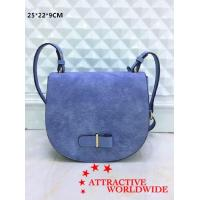 China Genuine Leather Ladies Saddle Shoulder Bags on sale
