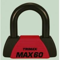 Ball Mounts Red U-Lock - Motorcycle Cable - TRI MAX-60