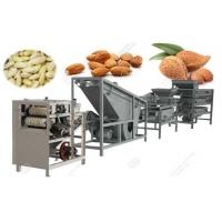 Quality Commercial Almond Shelling Peeling Production Line for sale
