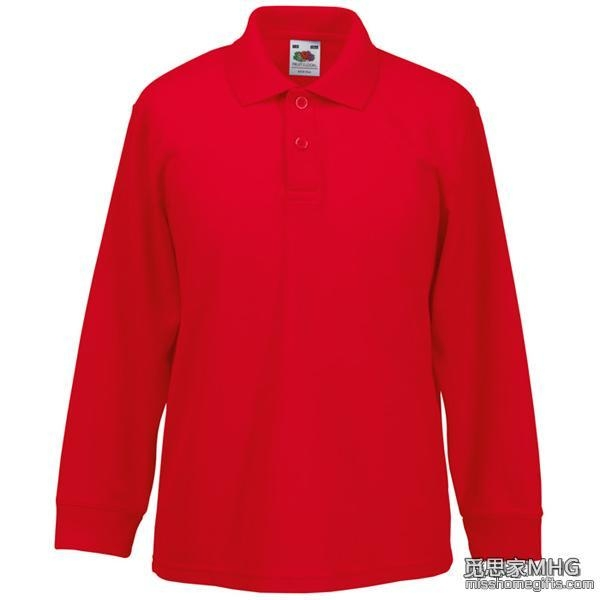 Buy Apparel & Clothing AP1005Kids Long Sleeve Polo Shirt at wholesale prices