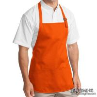 Quality Apparel & Clothing AA1002Medium Length Apron With Pouch Pockets for sale