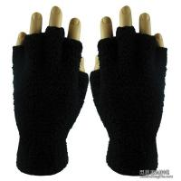 Quality Apparel & Clothing AG1006Fuzzy Fingerless Gloves (Blank) for sale
