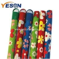 Quality color coated wooden broom handle for sale