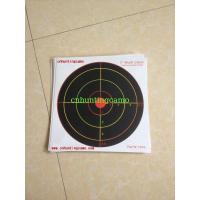 Quality Heavy Card Reactive Splatter Shooting Targets, Multi Colour for sale