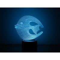 Quality 3D Reef Fish Led Night Lights for sale