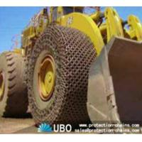 Quality Tire protection chain for OTR tire used on wheel loader for sale