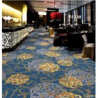Fashionable Printed Floral Carpet Ues In Oversea Chinese Restaurant