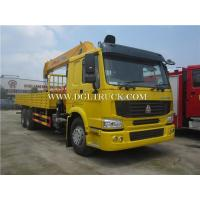 10 wheels HOWO crane truck with 10-16ton crane