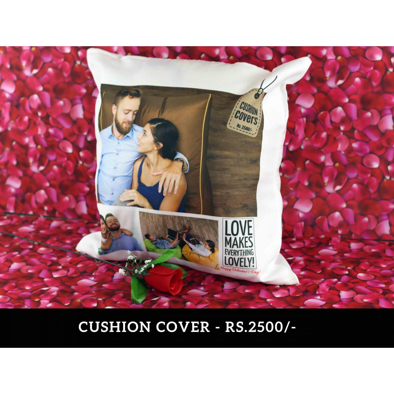 Cushion Cover Valentine Gifts - Cushion Cover