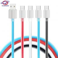 Quality High Light Aluminium Alloy Shell Type C Cell Phone Cables with TPE Jelly Line for sale