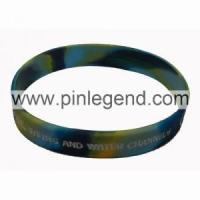 wristband with combination colors