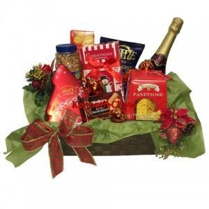 Buy Christmas and New Year Festive Season Featured Gourmet Gift Baskets at wholesale prices