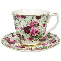 China Summertime Rose - Chintz Tea Cup and and Saucer on sale