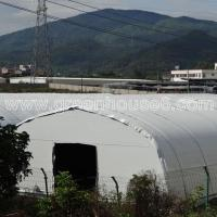 Quality Agricultural Mushroom Greenhouse with Black and White Film for sale