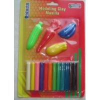 Quality stationary Name:modeling clay 12 colors & sculpting tools for sale