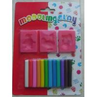 Quality stationary Name:modeling clay 12 colors & sculpting tools 120g for sale