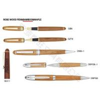 Quality Rose Wood Pen & Bamboo & Maple for sale