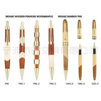 Quality Mosaic Wooden Pen(Rose Wood & Maple) Mosaic Bamboo Pen for sale